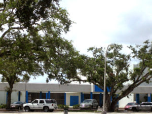 Painting Contractor & Waterproofing Miami Blue and White Building